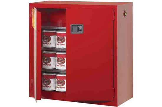 弱腐蚀性化学品存储柜(红色)